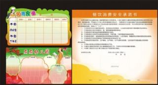 幼儿园菜谱图片