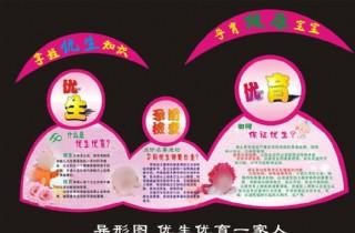 计划生育楼道文化宣传画面图片