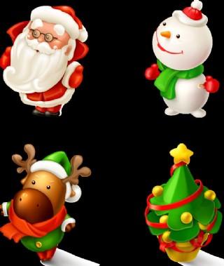 圣誕可愛圖片