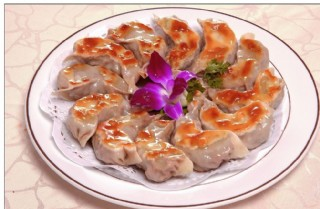 韭菜猪肉煎饺图片