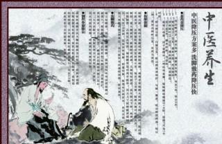 中医养生文化展板图片