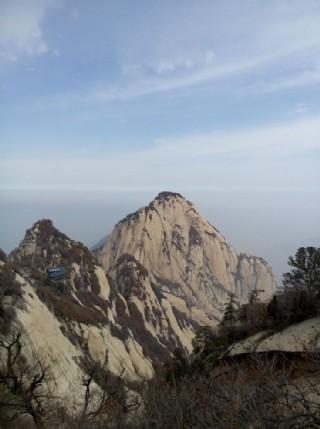 西安華山圖片