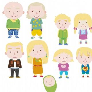 一家人圖片
