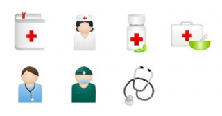 医院工作人员图标下载