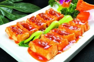 酱烧豆腐美食