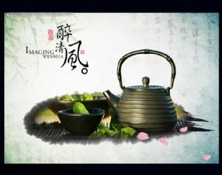 茶道模板背景