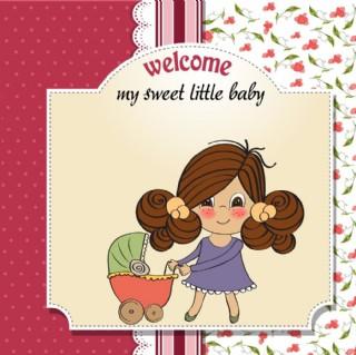 母子卡片图片