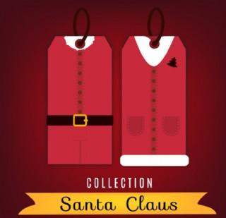 圣诞老人服饰 吊牌图片
