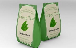 綠色包裝樣機