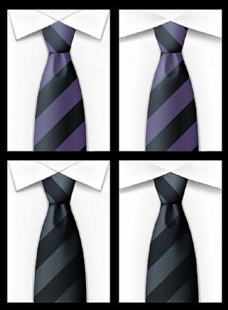 矢量襯衫領帶
